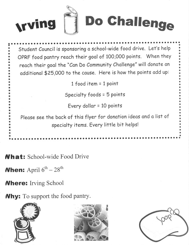 Irving Food Drive