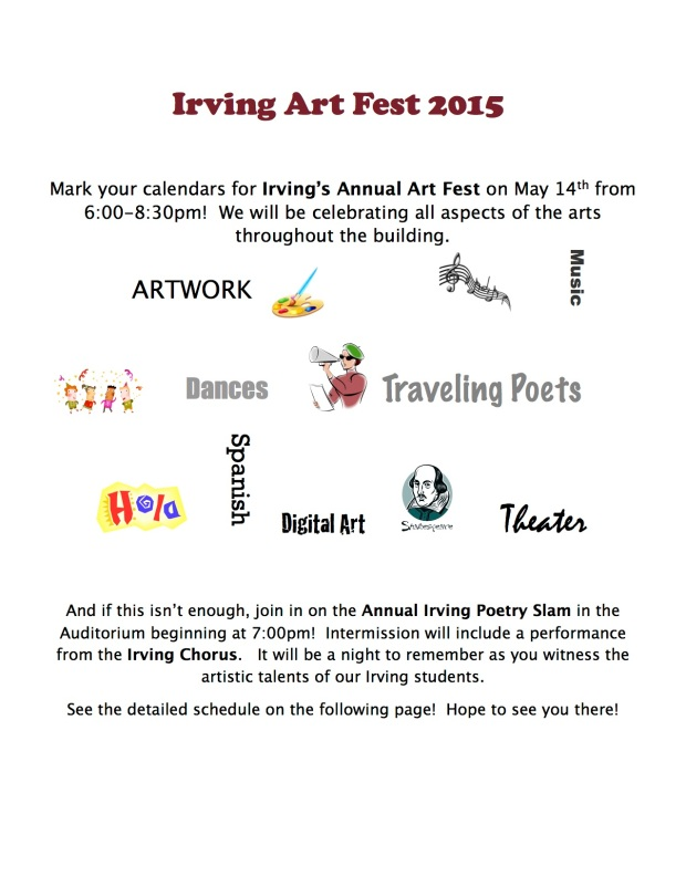 ArtFest Flier 2015