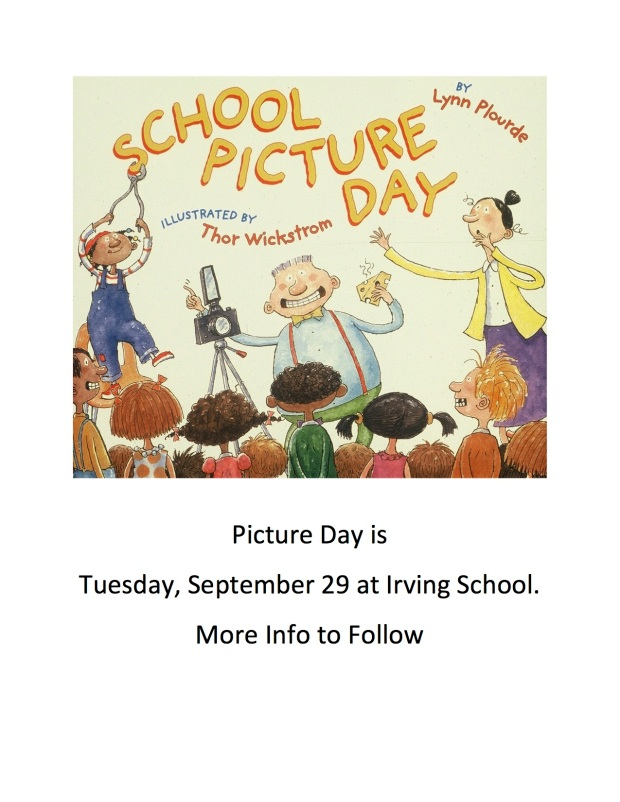 Picture Day Save the Date 2015 2016