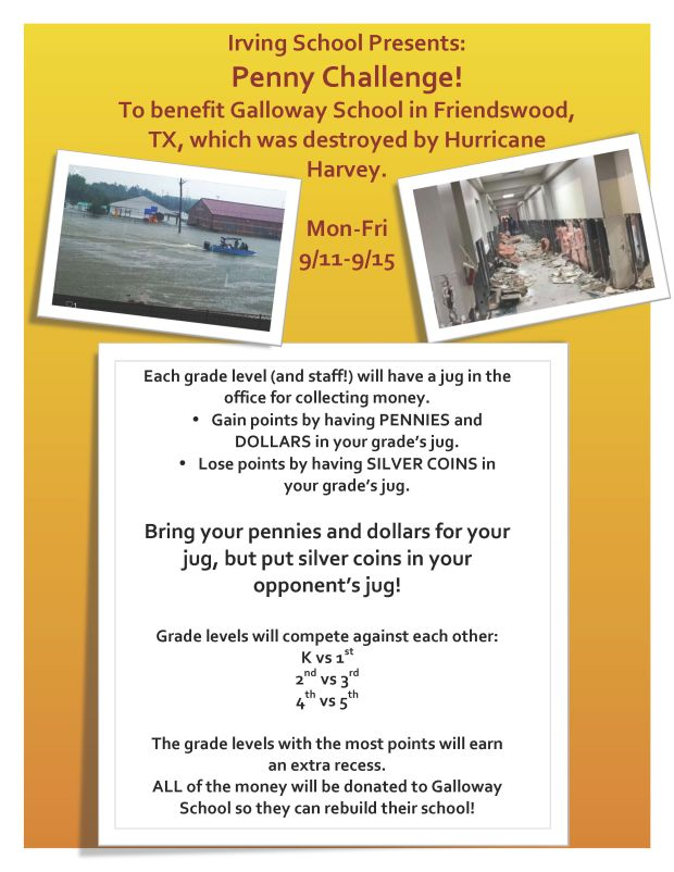 Hurricane Harvey Flier