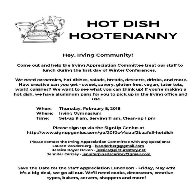 Hotdish Hootenanny