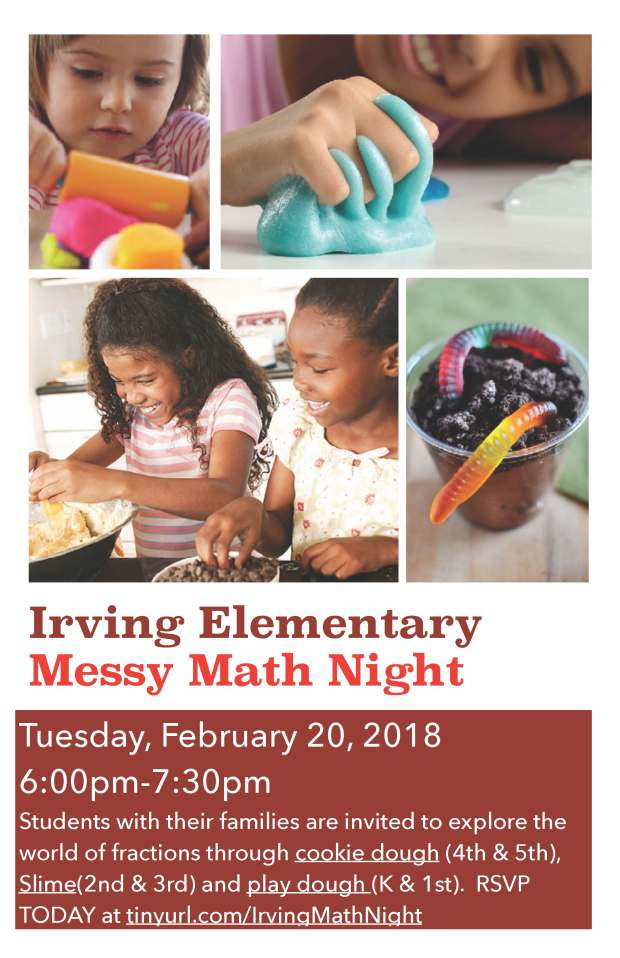 Messy math Night