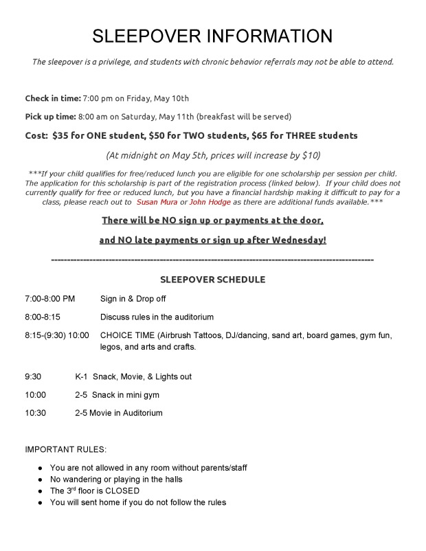 FINAL COPY Irving Sleepover Info Sheet 2018_Page_2