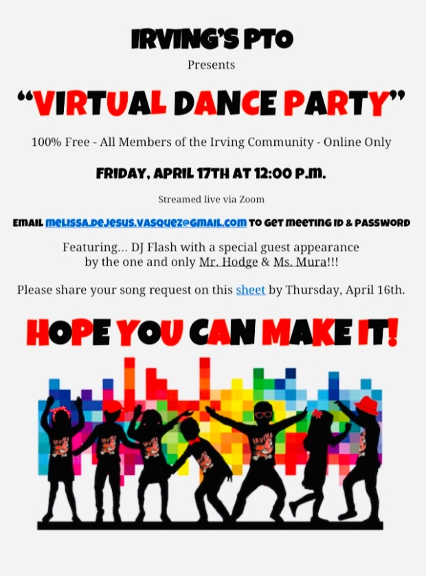 Irving's Virtual Dance Party